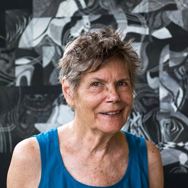 Audrey, Auroville artist