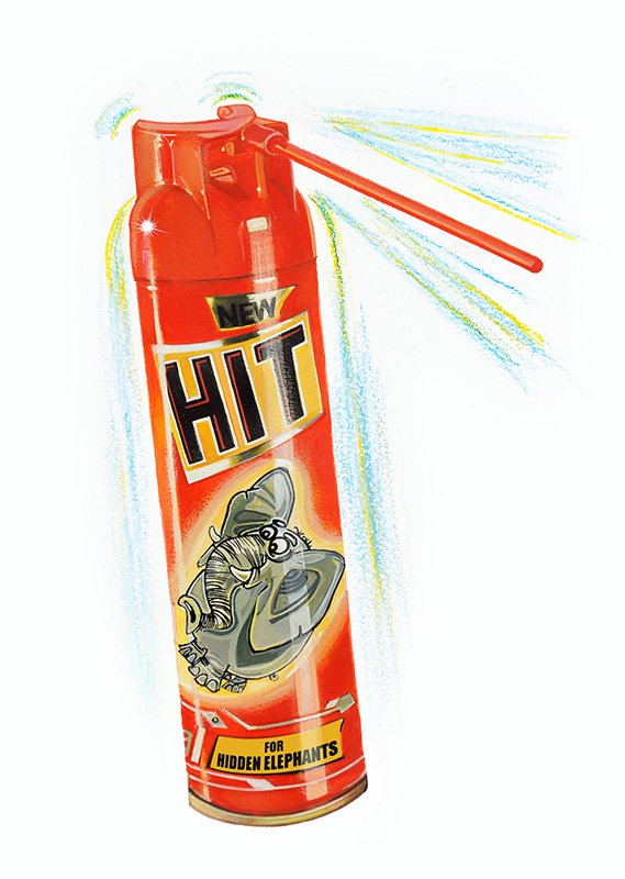 HIT Elephant Killer Spray