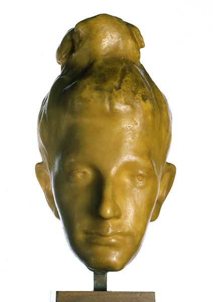 Manzù's wax head