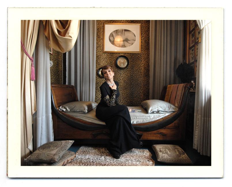 Patrizia Sandretto, art collector and founder of Fondazione Sandretto Re Rebaudengo.