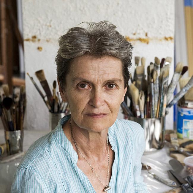 Monique, Auroville artist