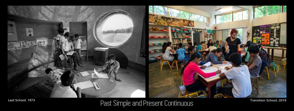 Past Simple, Present Continuous