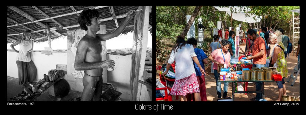 Colors of Time