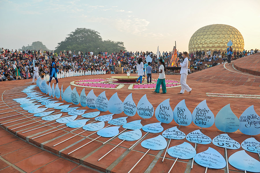 Auroville 50th Anniversary