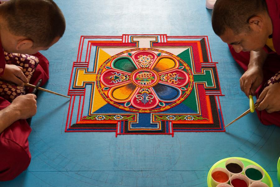 Sand Mandala of Chenrenzig