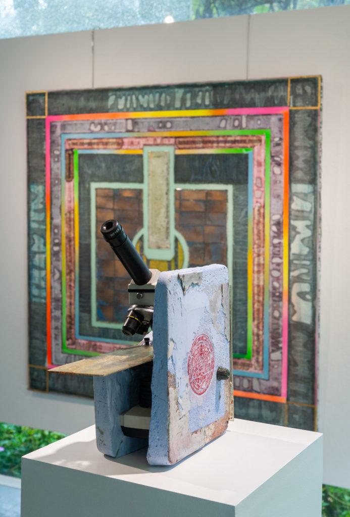 U.F.O. Exhibition - Microscope