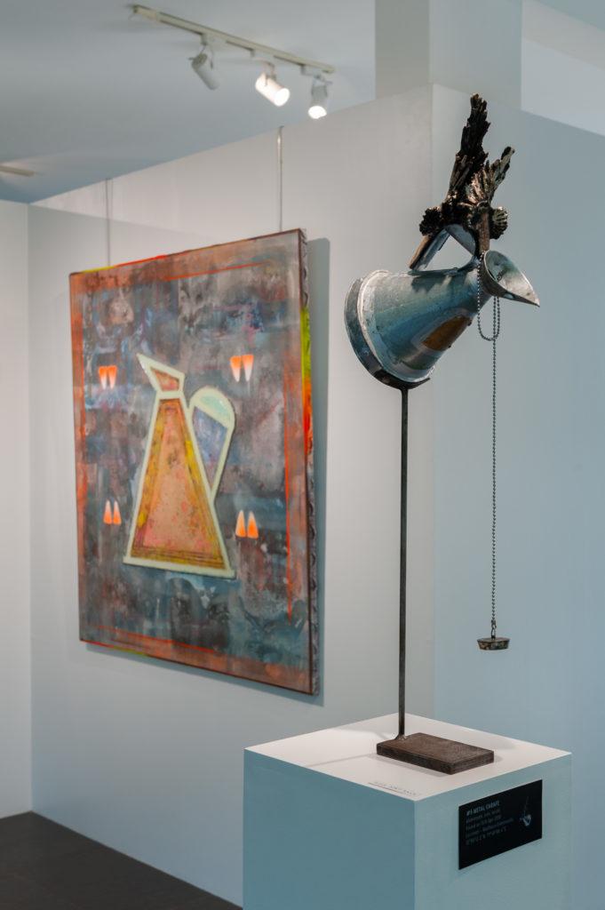 U.F.O. Exhibition - Metal Carafe